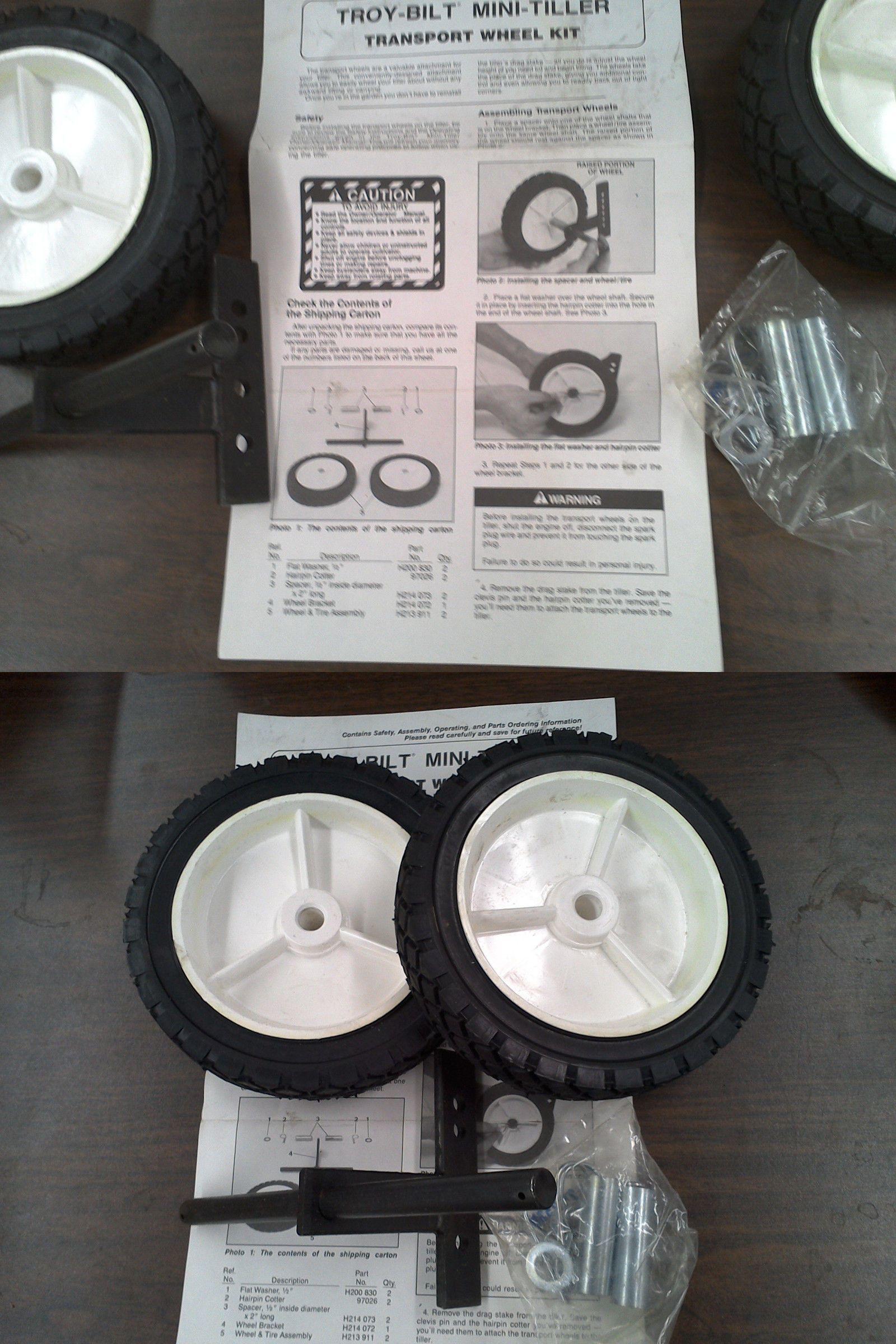 Tillers 29519: Troy Bilt Garden Way Mini Tiller Transport Wheel Kit  U003e BUY  IT NOW ONLY: $42 On EBay!