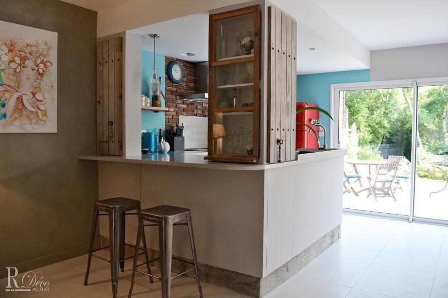 Best Decoration Cuisine Avec Ouverture Sur Le Salon Gallery - Cuisine semi fermee