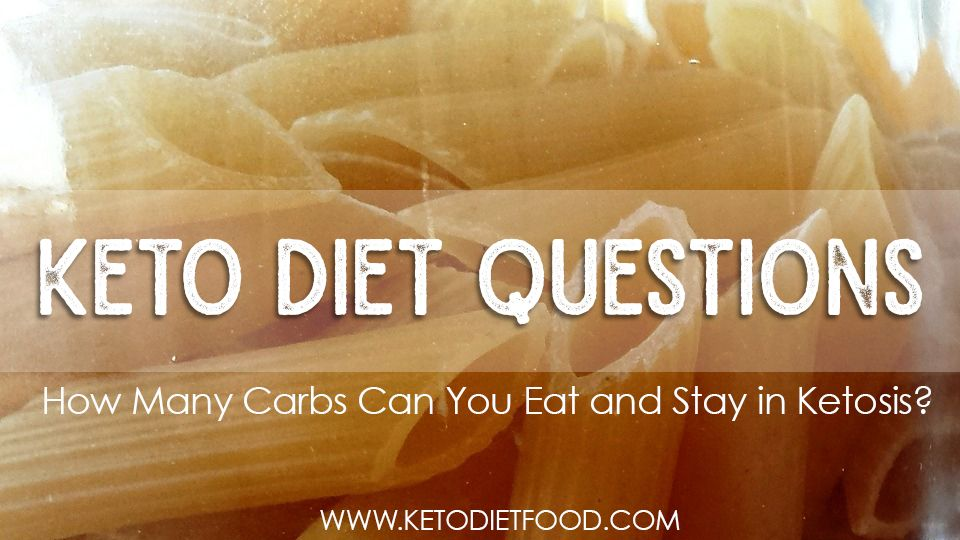 How many carbs can you have in one day on the keto diet