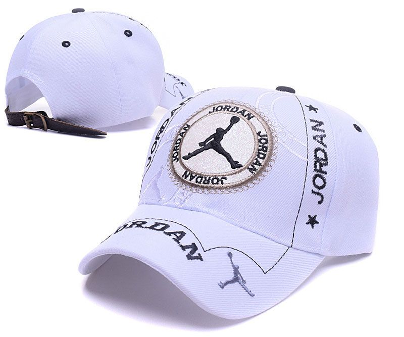 4512dbaa794 ... clearance mens womens air jordan the jumpman logo circle patch  embroidery leather strap back baseball adjustable