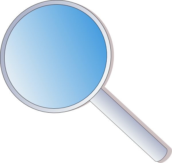 45++ Magnifying glass clipart free info