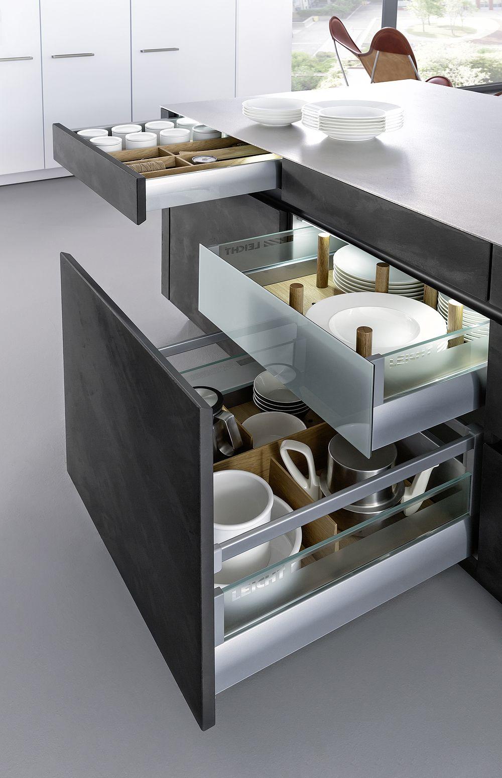 Detalle Cocina Mod Concrete De La Firma Leicht Kitchens And