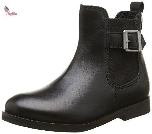 Aster Eden, Bottes Classiques fille, Noir, 32 EU - Chaussures aster (*