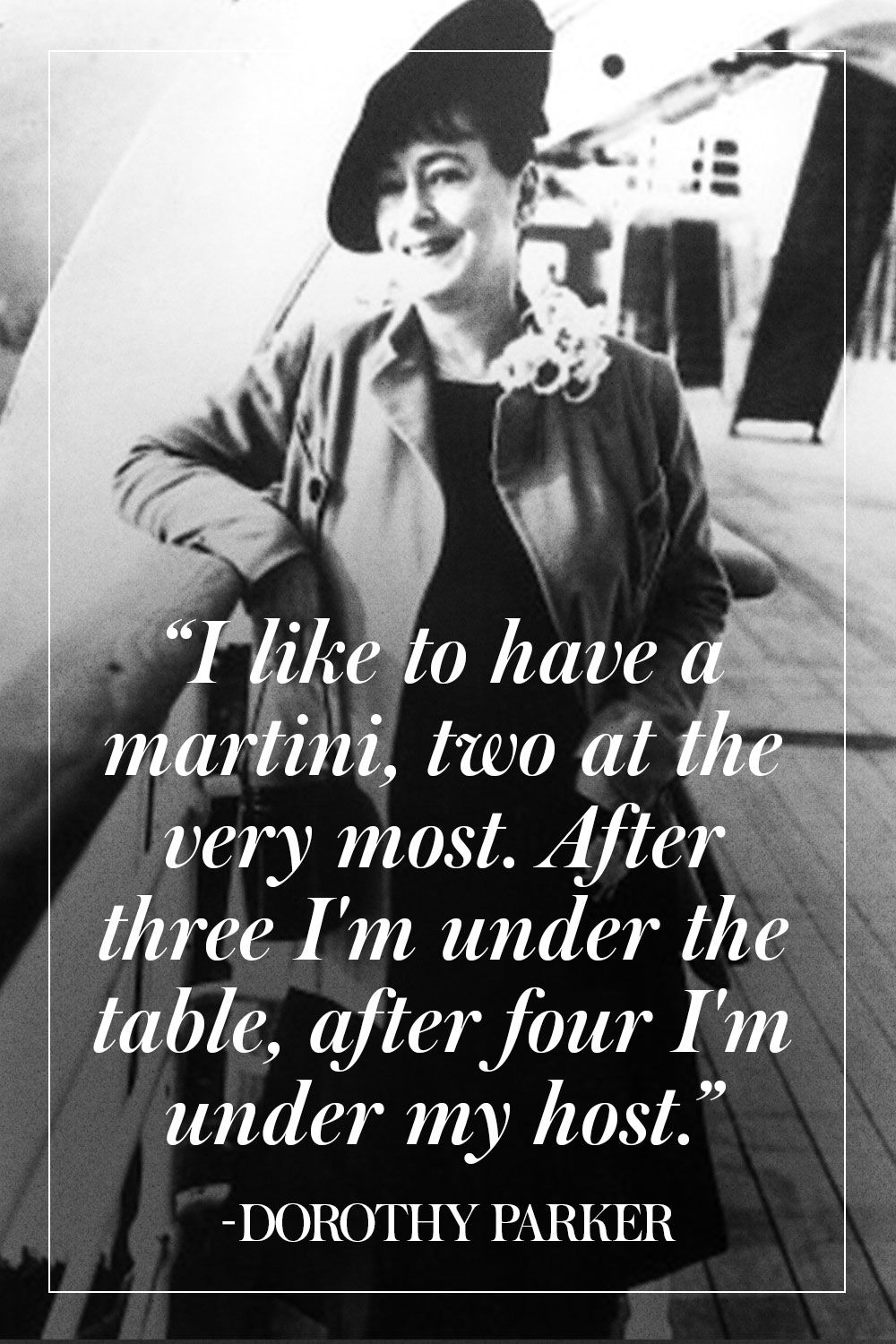 11 Pearls of Wisdom From Dorothy Parker | Inspiring Quotes ...