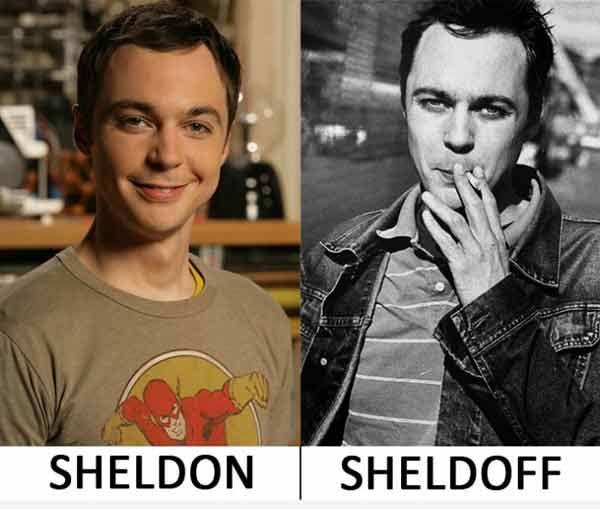 Big Bang Theory: Sheldon / Sheldoff