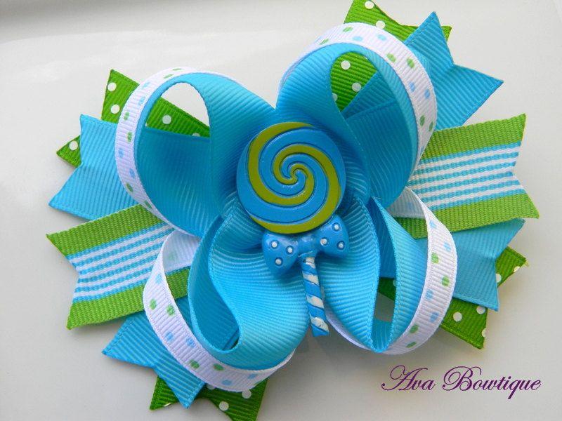 Lollipop Boutique Hair Bow