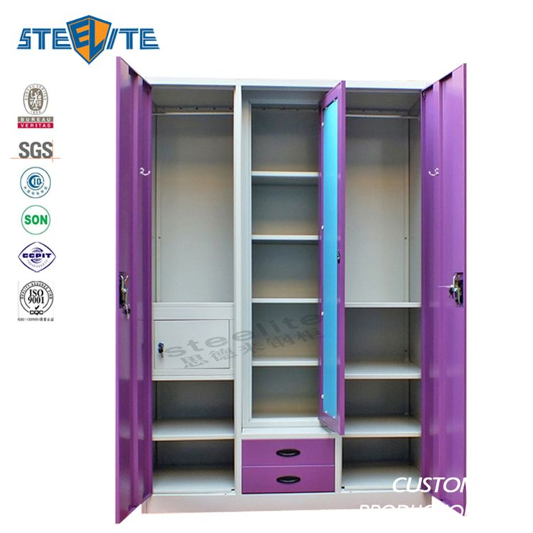 e5dc8c0e9 Source bedroom steel or iron almirah cupboard designs indian godrej steel  almirah designs with price on m.alibaba.com