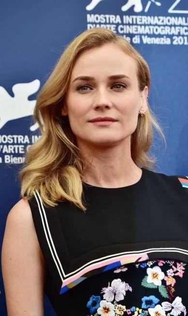 Close na beleza de Diane Kruger GIUSEPPE CACACE / AFP