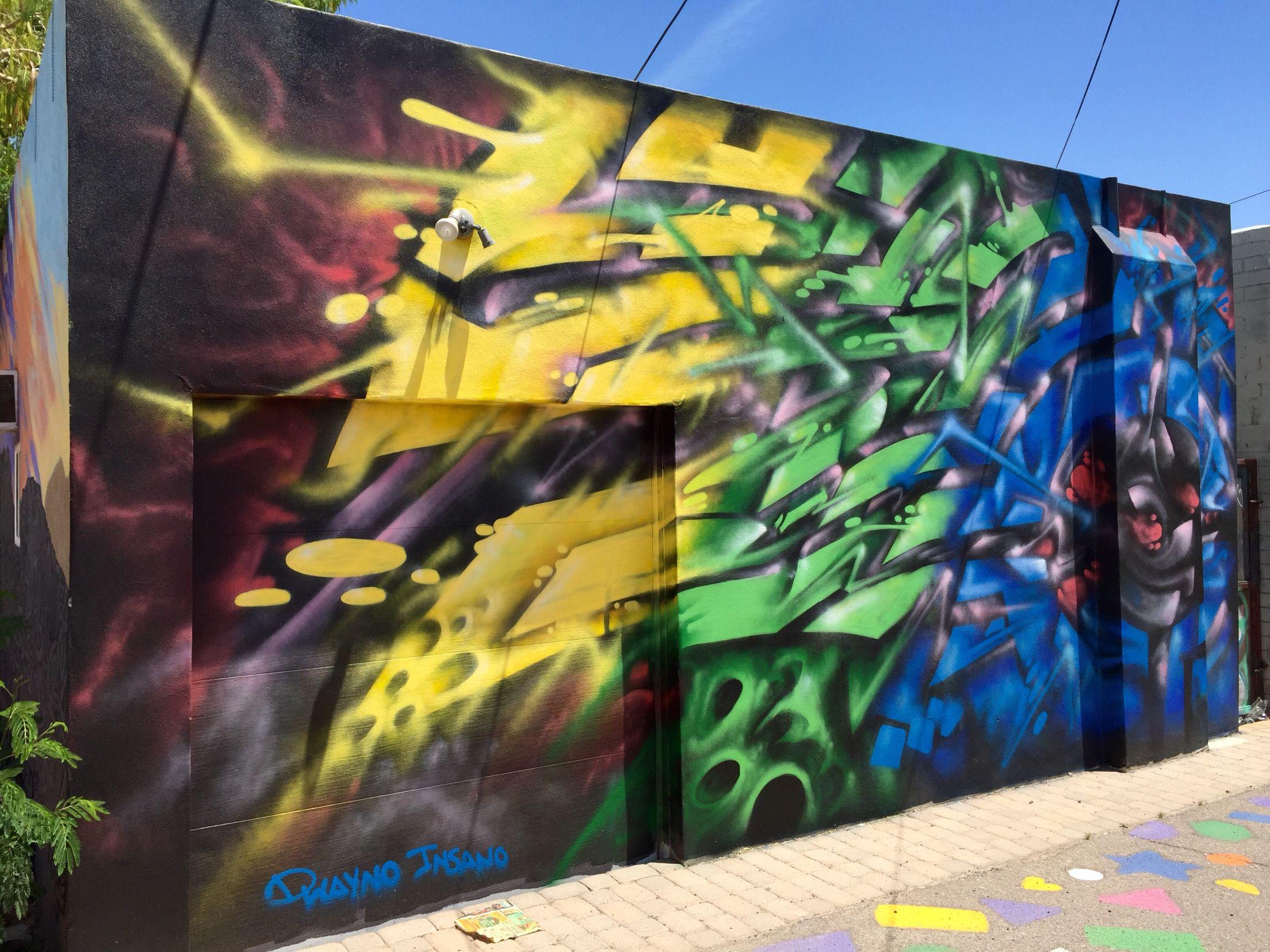 Roosevelt Row Art's District   Downtown Phoenix - Phoenix, AZ   Wallart   Urban Art   Mural