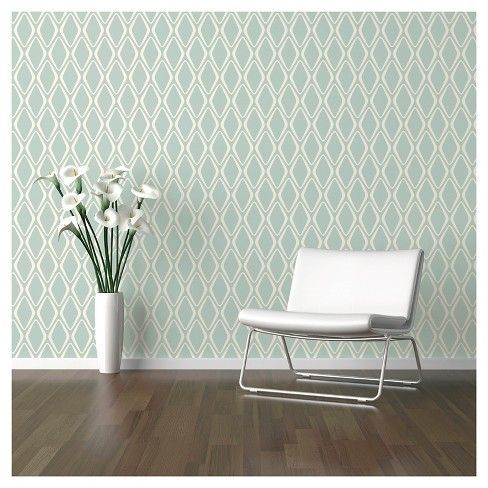 Devine Color Diamond Peel & Stick Wallpaper Horizon