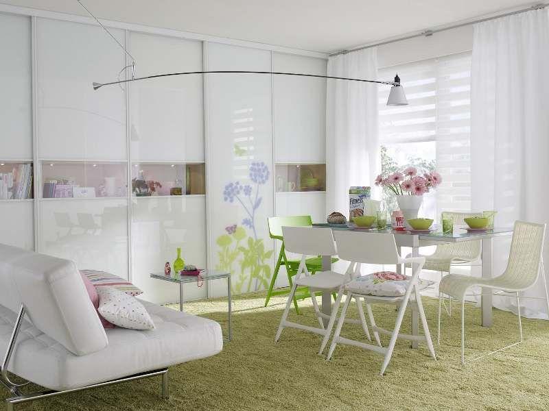 Kleine Wohnung, Dekorieren, Einrichtung, Weiß Speiseräume, Moderne  Speiseräume, Moderne Wohnzimmer Sets, Esszimmer Dekoration, Esszimmer Design,  Deko Ideen