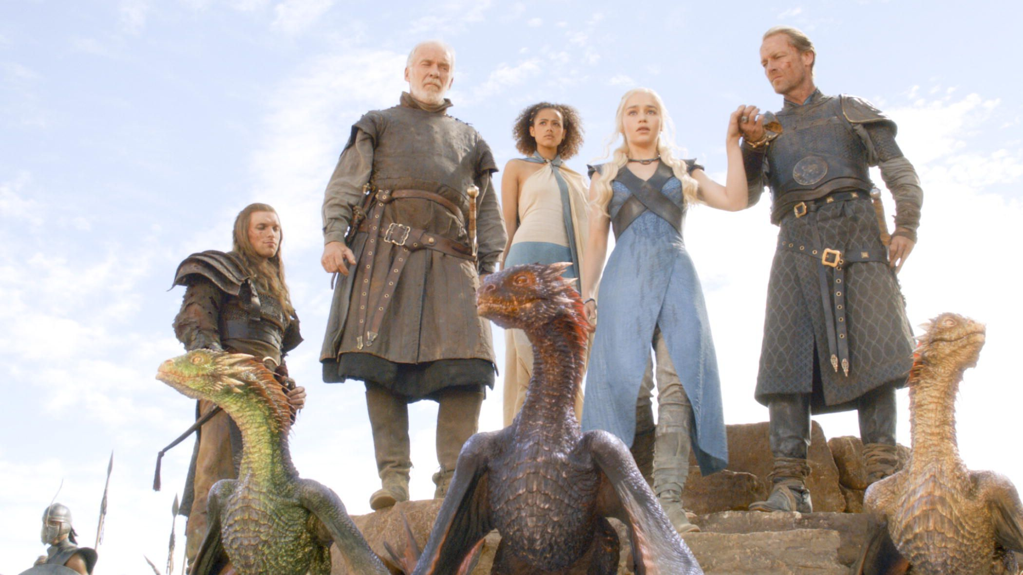 Game of Thrones Season 3 Finale - #Daenerys and her ...