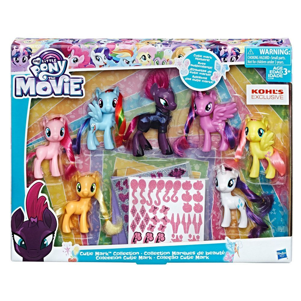 DISNEY LITTLE PONY Girls My Little Pony 52 Piece Art Set **NEW** Age 3 Years+