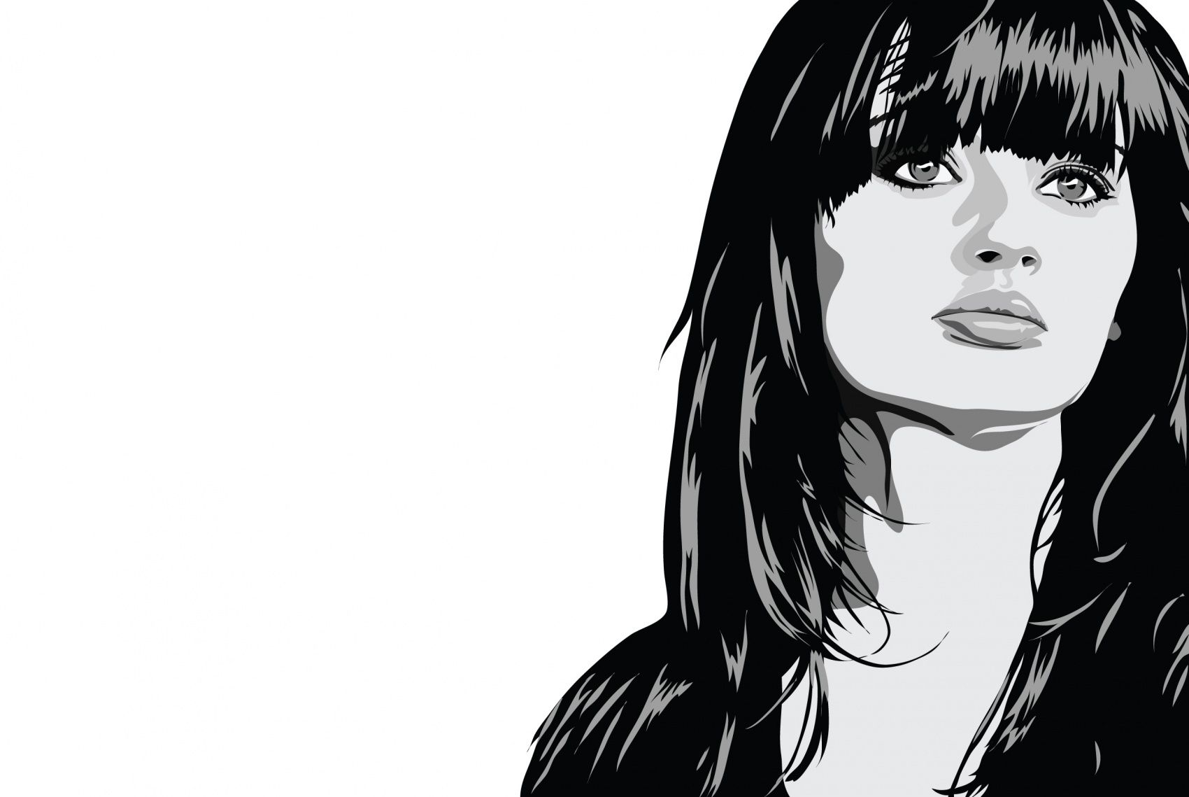 Illustrated Faces - Laura Bender Design Portfolio