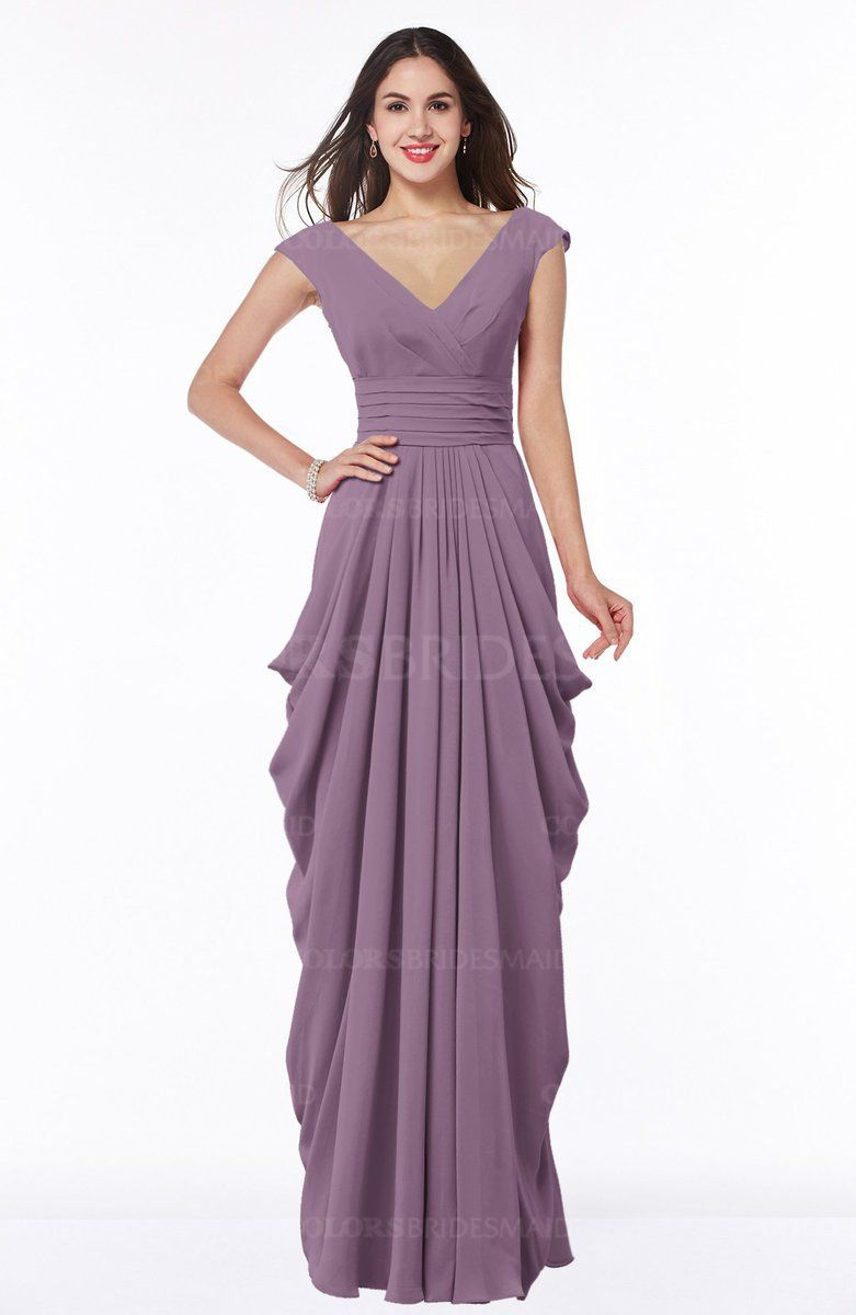 Click to enlarge | maid of honor Dress purple plus size | Pinterest ...