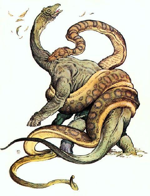 15 terríveis monstros pré-históricos   Prehistoria, Animales ...