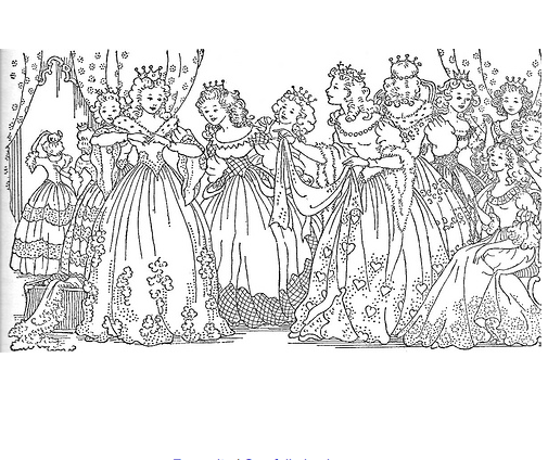 Barbie And The 12 Dancing Princesses Coloring Pages Printable Princess Coloring Pages Princess Coloring Coloring Pages