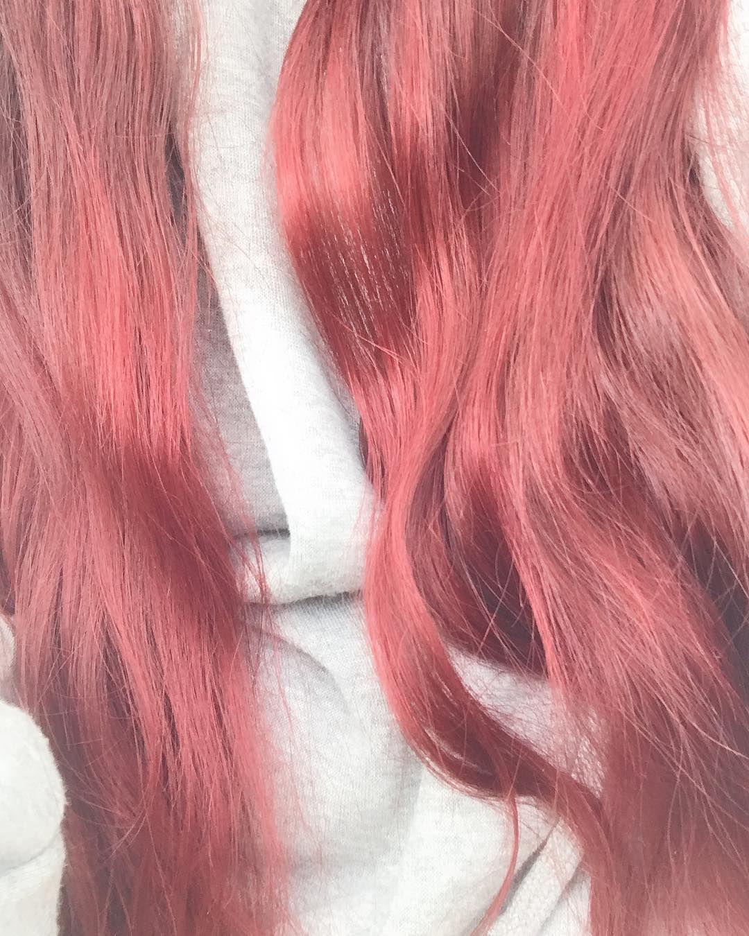 髪の毛カラーチェンジ だいぶ色落ちしてきたので 久々