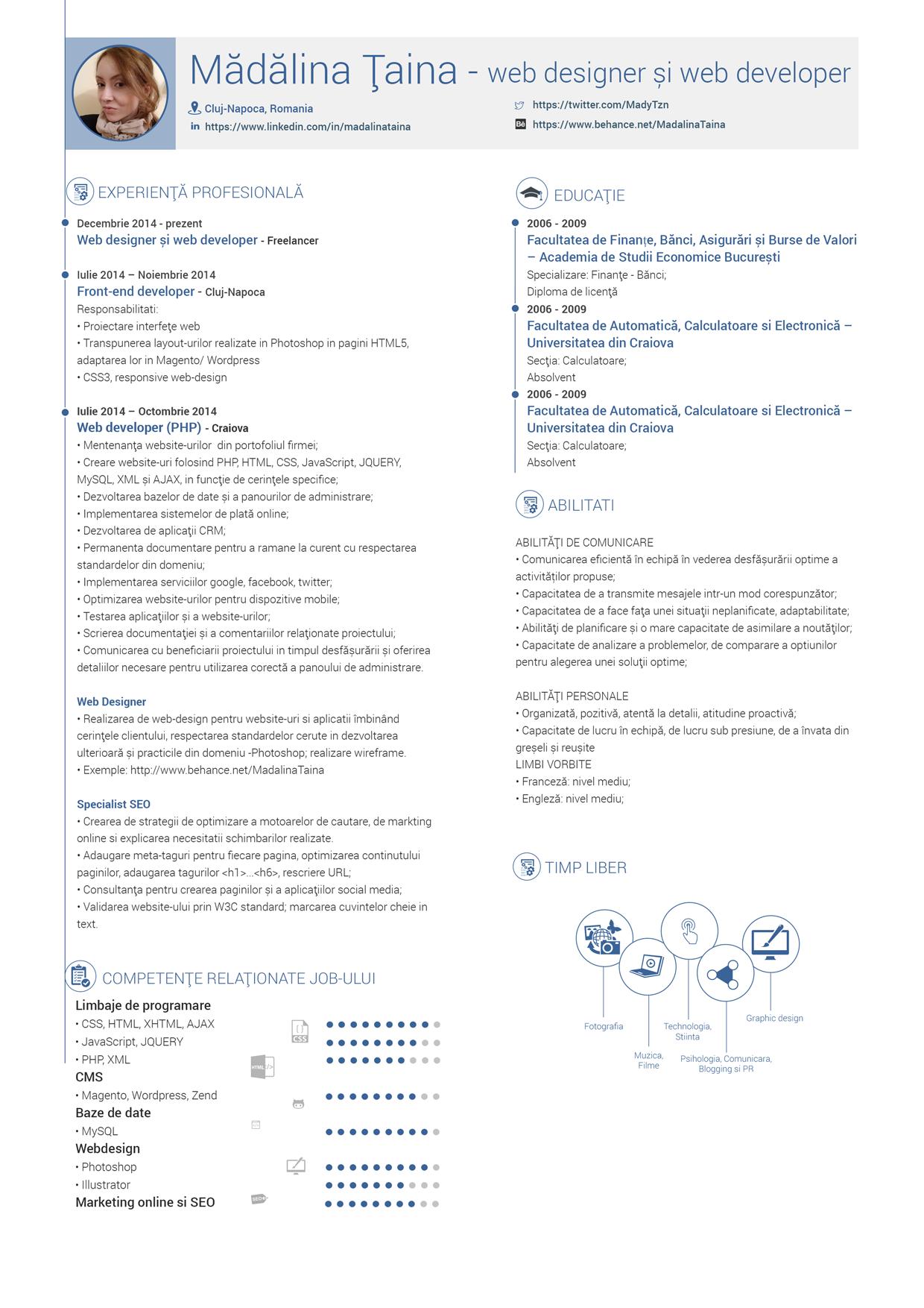 My resume https://www.behance.net/gallery/22089465/My-Resume