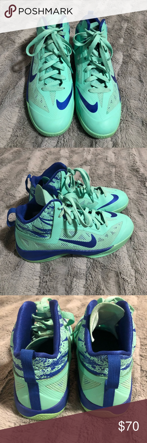 8426f50955d Boys Nike Hyperfuse basketball shoes In great condition