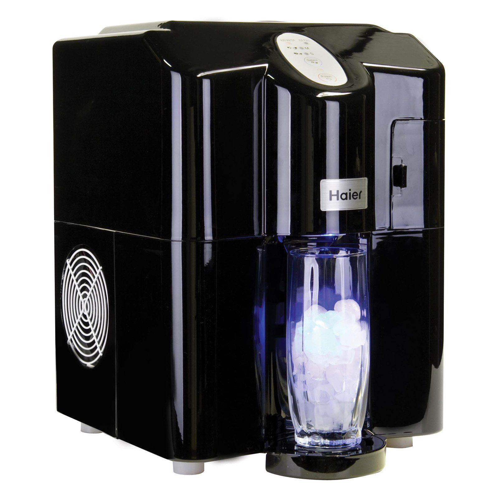 Have To Have It Haier Hpimd25b Portable Countertop Ice Maker Dispenser Black Cool Things To Buy Countertops