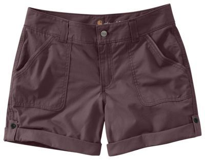 Carhartt Relaxed Fit El Paso Shorts for Ladies - Deep Wine - 10
