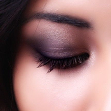 smokey eye.  Wish I could do this.  I know I'd look like I have a black eye though...