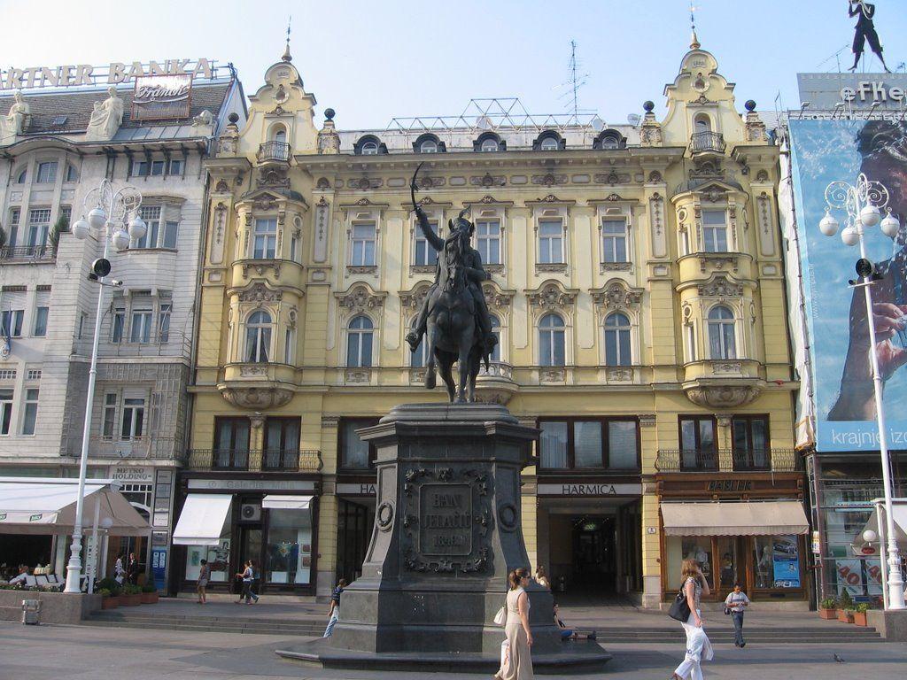 Photo Of Ban Jelacic Plaza Zagreb Photo Croatia