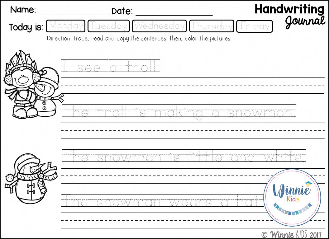 Practice Hand Writing Handwritingimprovement