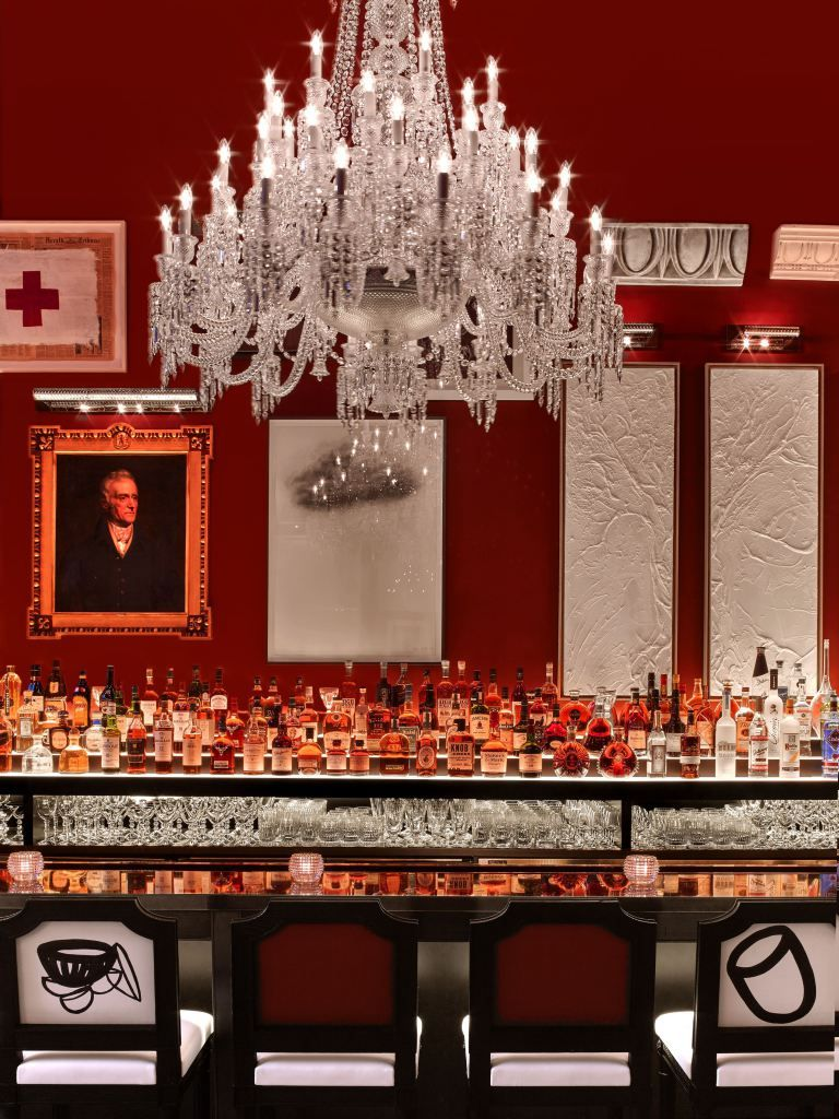Baccarat Hotel New York Lighting Design Inspiration Restaurant Design Inspiration Baccarat
