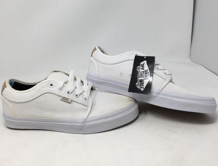 c604e31df5 VANS CHUKKA LOW ALOHA WHITE TWILL ATHLETIC SKATE SNEAKERS MEN S 9.0 NEW WOB   fashion  clothing  shoes  accessories  mensshoes  athleticshoes (ebay link)