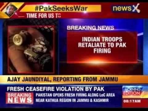 Fresh ceasefire violation by Pakistan along LoC
