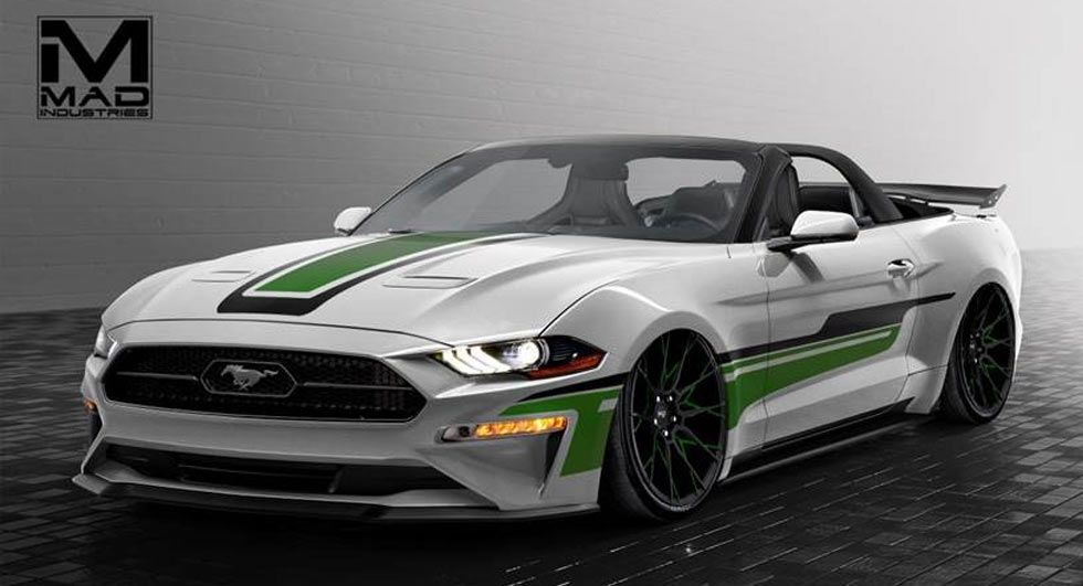 Ford Showcases Seven Mustangs Ahead Of Sema