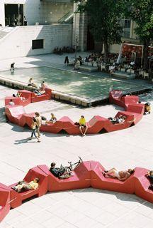 Ppag yard furniture museumsquartier vienna public space museumsquartier vienna adolf loos - Landschaftsarchitektur osterreich ...