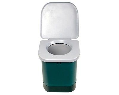 Portable Camping Toilet : Stansport easy go portable camp toilet emergency