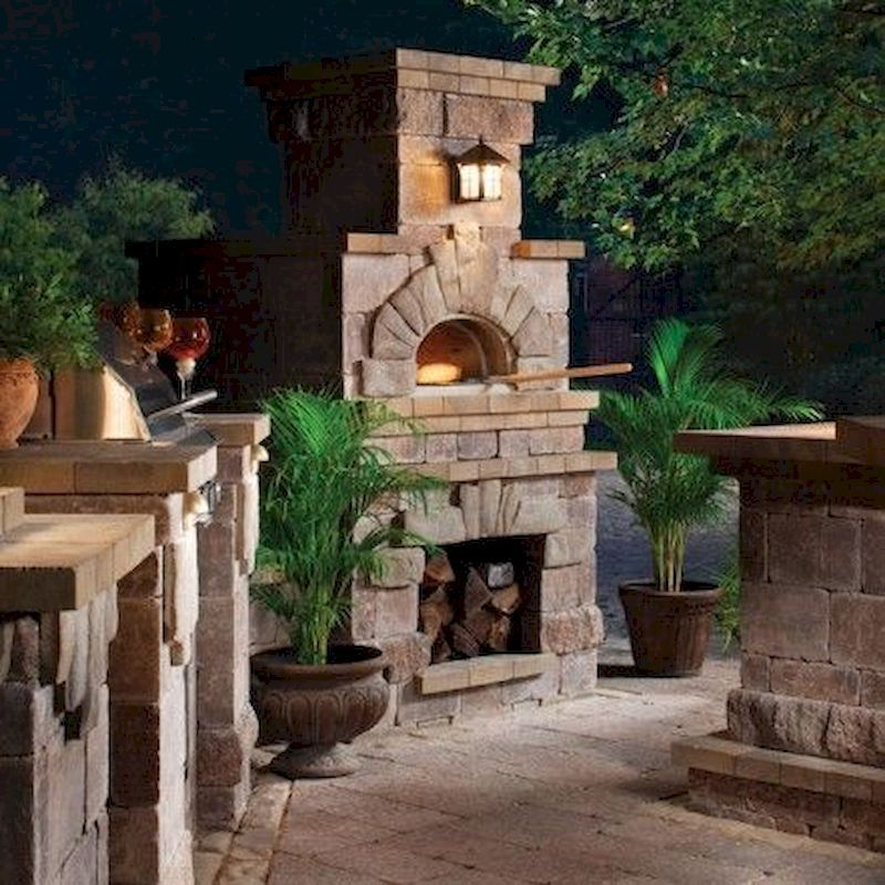 54 creative diy backyard brick barbecue ideas backyard