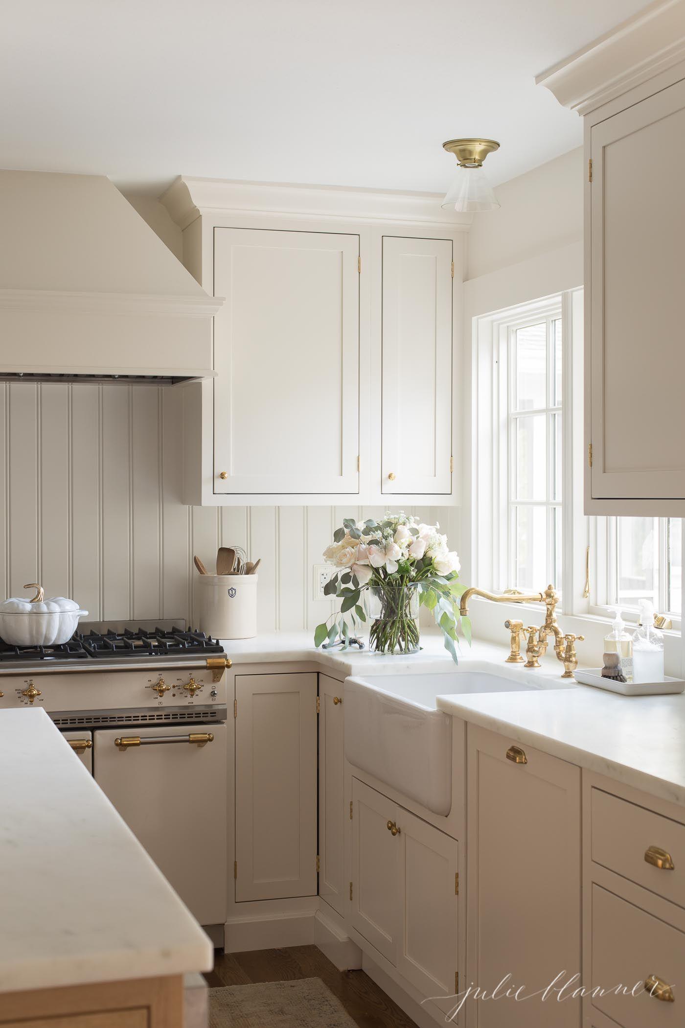 cream cabinets   Cream kitchen cabinets, New kitchen ...