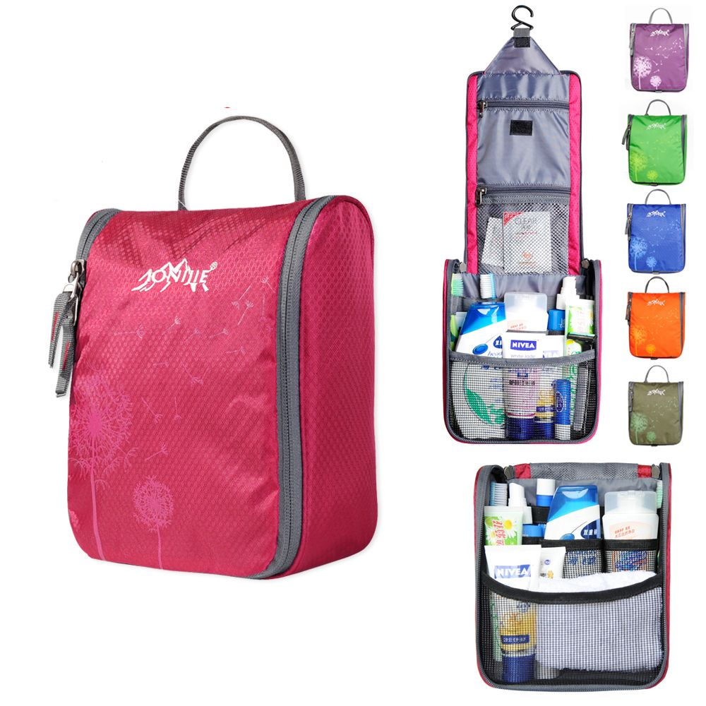 7a0ace8a9 8.27€ Neceser de maquillaje impermeable organizador de tocador bolsa de cosméticos  para mujeres porta escolar para niños bolsa portátil de aseo para hombres  ...