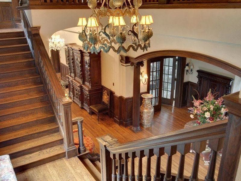 Victorian Gothic interior style Victorian and Gothic rooms Antik