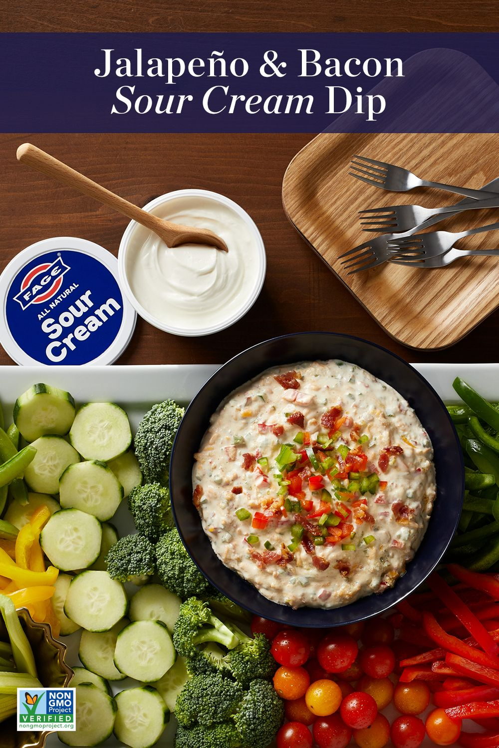 Jalapeno Bacon Sour Cream Dip Appetizer Recipes Party Food Appetizers Recipes