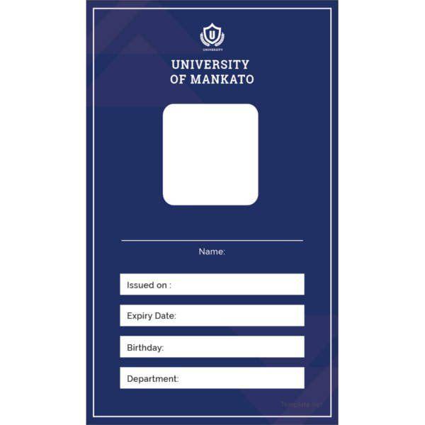 40 Blank Id Card Templates Psd Ai Vector Eps Doc Id Card Template Card Templates Free Blank Id Cards