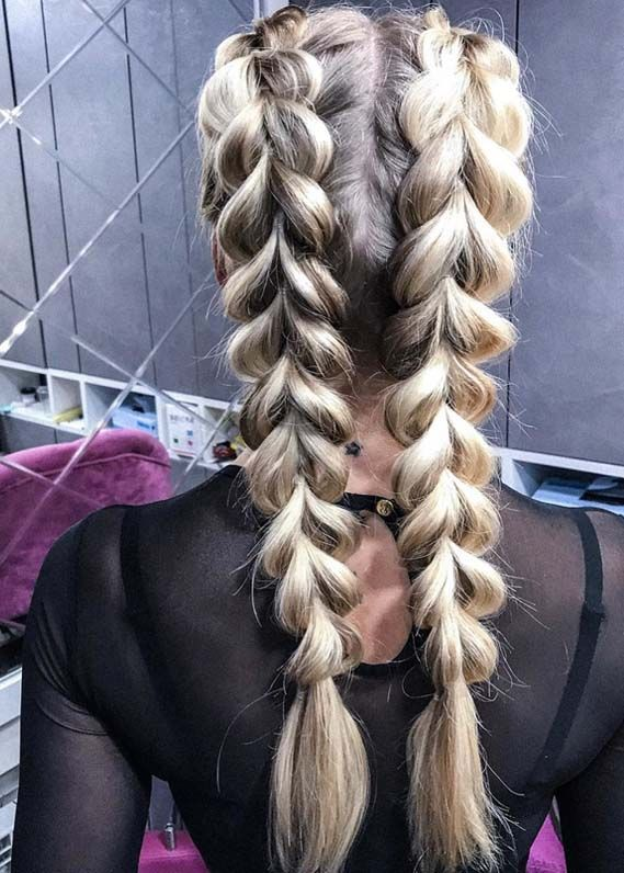 Attractive Pull Through Braids for Every Woman 2018 | Absurd Styles - Are you looking for best wedding or braided styles? No need to worry at all, just see here we have made a collection of sensational pull through braids for long hair in year 2018. While using the methods positioned on this Internet, understanding how to braid some sort of horses has never already been easier. Regardless of whether you want the sunday paper, online video tutorials and also photograph manuals, tutorials inte