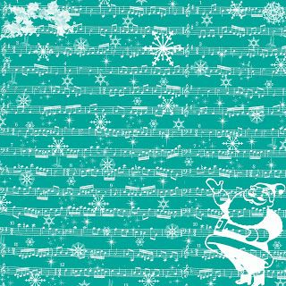 **FREE ViNTaGE DiGiTaL STaMPS**: Free Digital Scrapbook Paper - Christmas Sheet Music