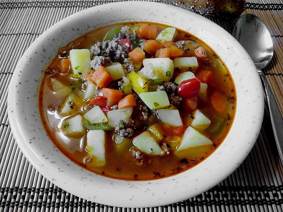 Serbische Kartoffelsuppe Serbisch, Kartoffelsuppe und Eintopf - serbische küche rezepte