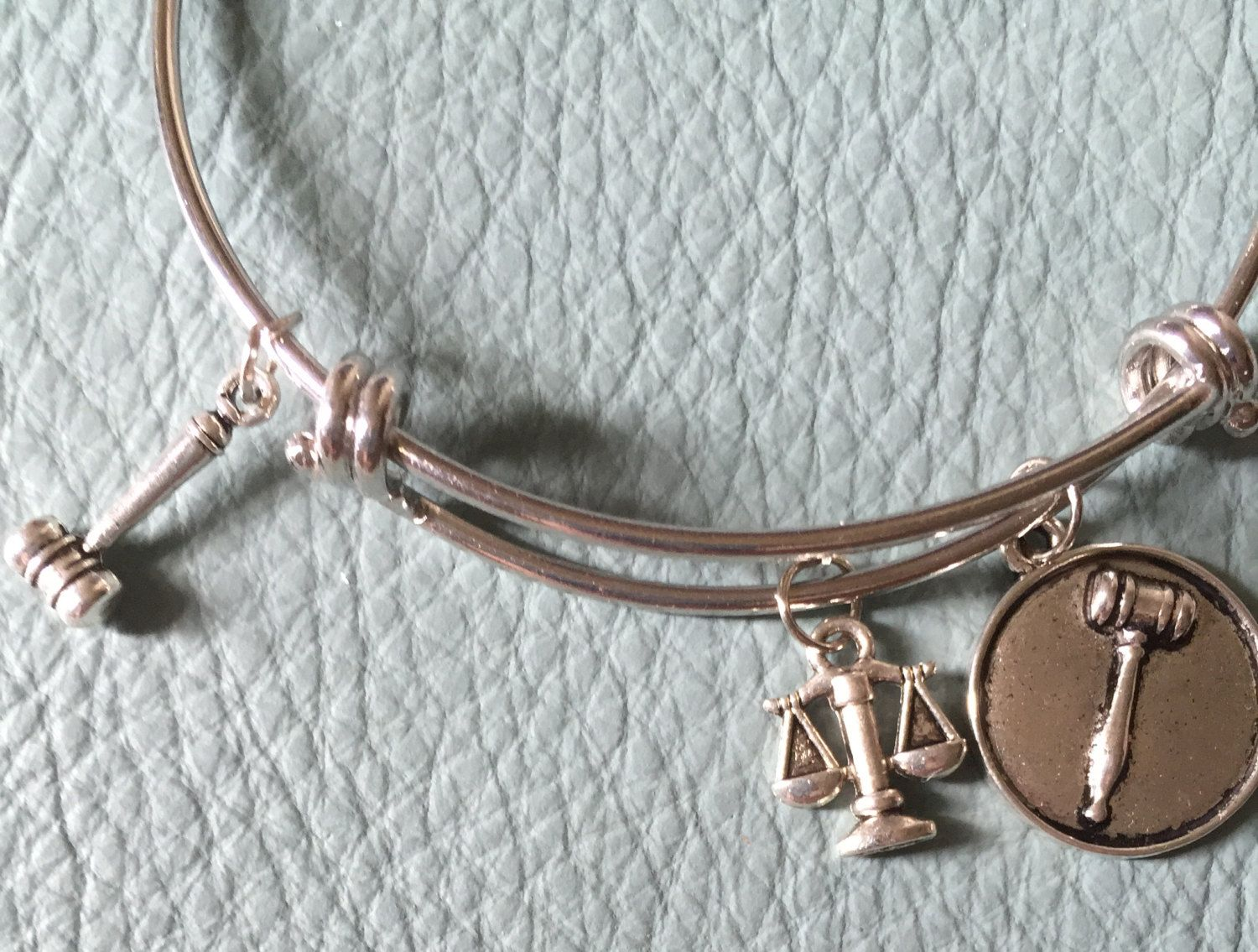 Laywer, Judge, Attorney Silver Bracelet Inspired, Law School ...