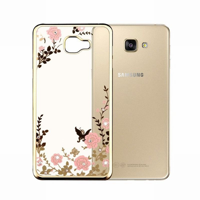 Aliexpress Com Buy For Galaxy A3 2016 Case Secret Garden Butterfly Soft Tpu Plating Bling Glitter Transparent B Samsung Galaxy A3 Cheap Cell Phone Cases Case