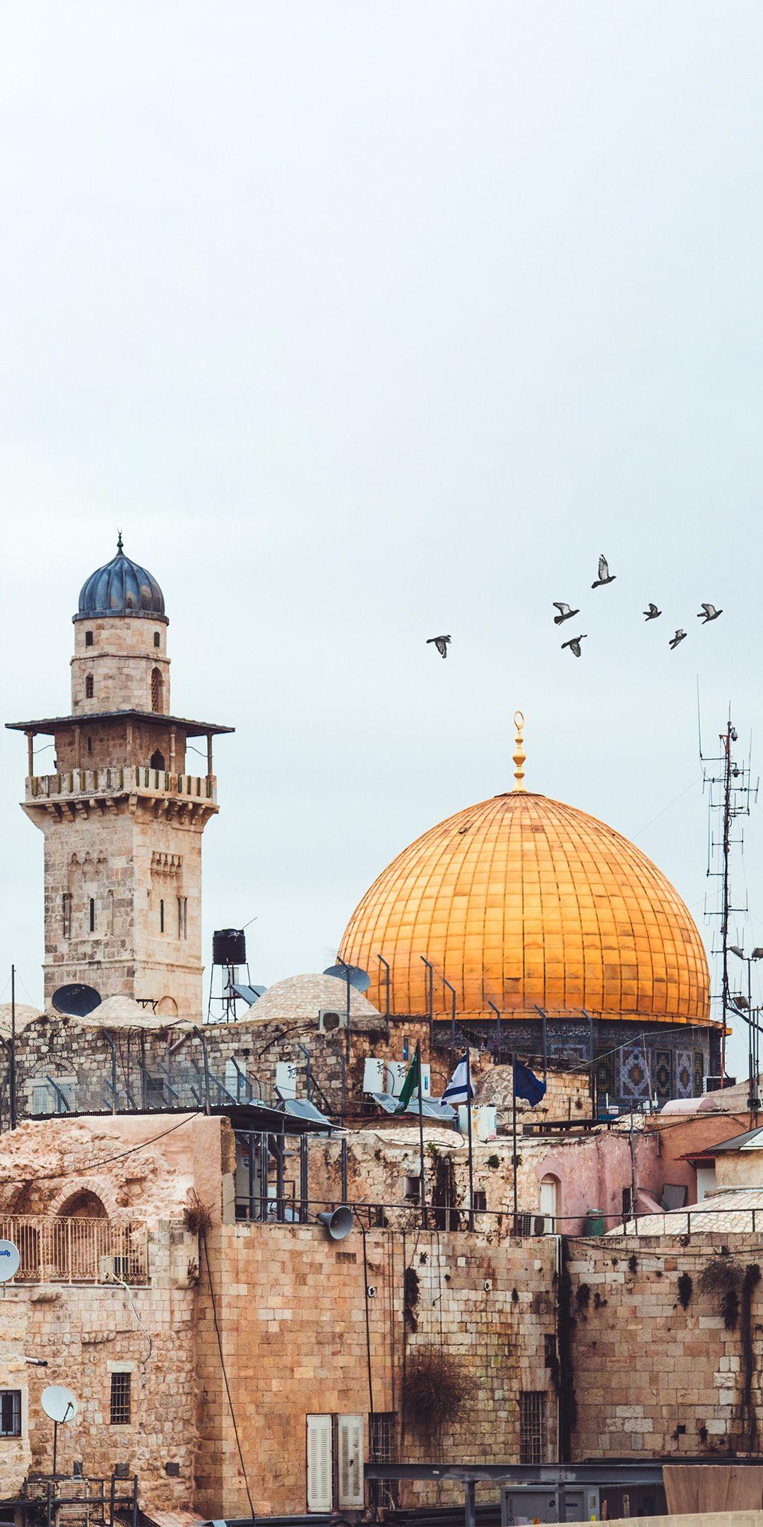 Masjid Al Aqsa Hd Wallpaper And Other Beautiful High Quality Hd Islamic Wallpapers On Islamwallpapers In 2020 Dome Of The Rock Islamic Wallpaper Islamic Wallpaper Hd