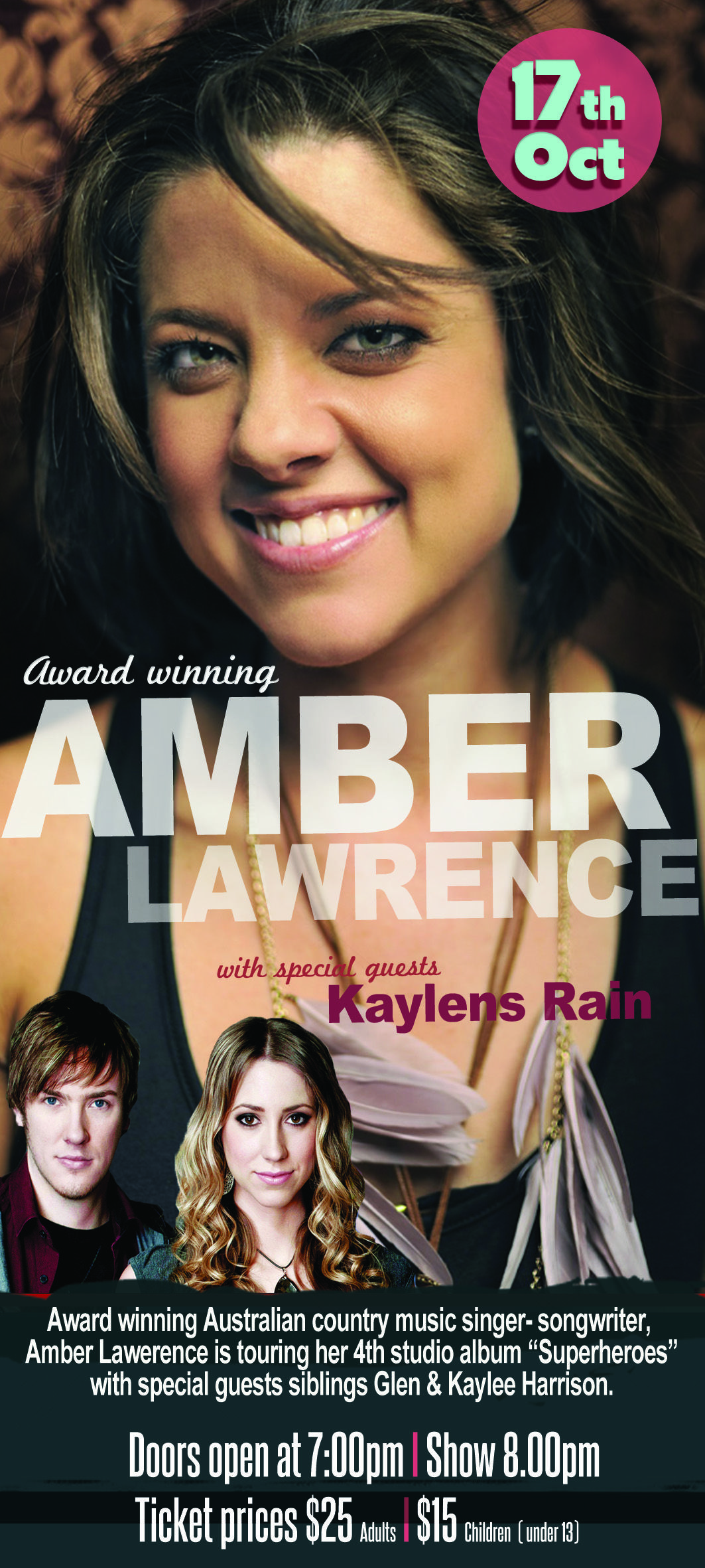 Amber Lawrence Show featuring Kaylens Rain Oct 17th 2014 ...