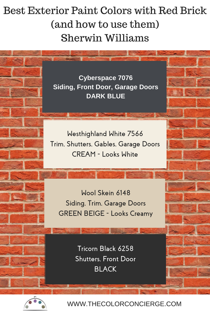 Best Exterior Paint Colors For Red Brick Homes And How To Use Them Exterior Paint Colors For House Red Brick Exteriors Brick Paint Colors