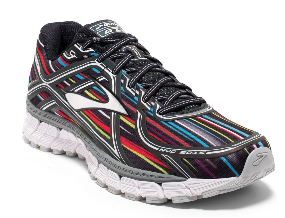 4e2d25e50af New York Marathon 2015 Brooks running shoe. Adrenaline GTS 16. Special  edition. Rainbow reflective. Bright Lights
